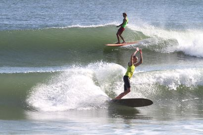 The Vans Joel Tudor Duct Tape Invitational is all about gliding on logs, it's awesome. Photo: Vans