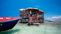 The Pelican Bar at Treasure Beach in St. Elizabeth, Jamaica