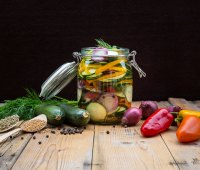 Pickled Vegetables and Spices