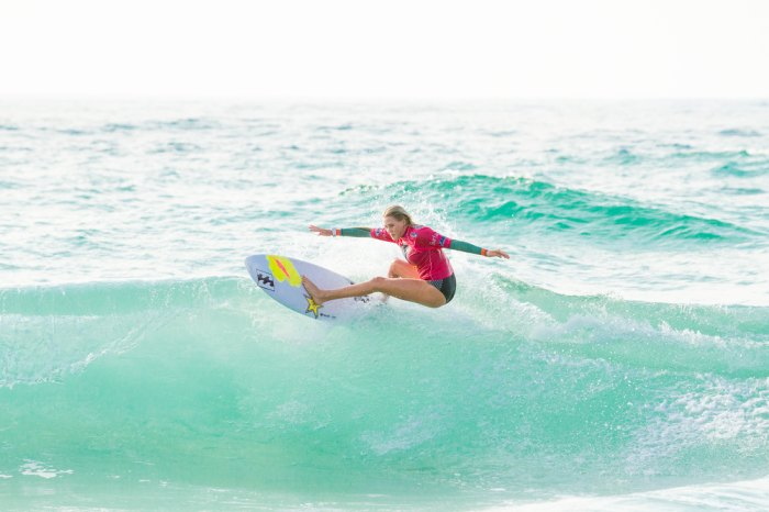 We love to celebrate the accomplishments of our female surf heroines, like Laura Enever (pictures). Photo: Shutterstock.com.