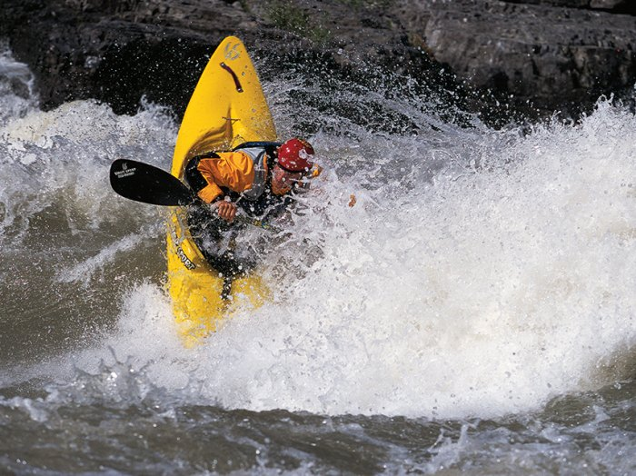 Vintage Gavere. Photo by Taylor Robertson, originally featured in C&K's 2009 Whitewater annual 'Standing Tall' feature.