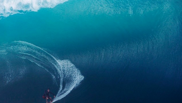 Keala Kennelly big wave surfer billabong Teahupo'o bomb tow in