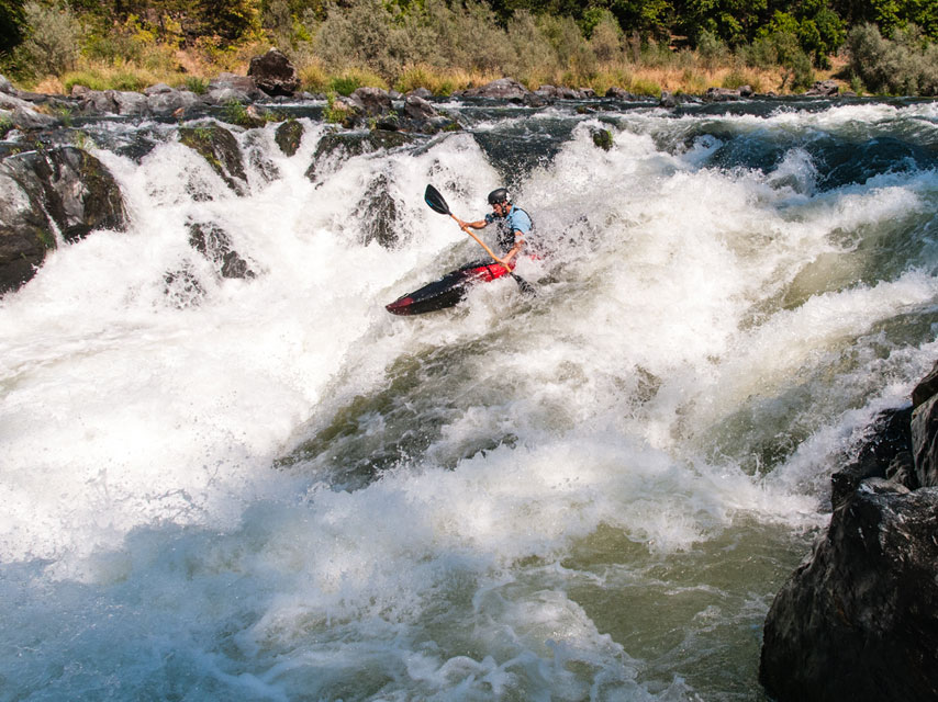 Check out a review of Wave Sport's recently released Ethos crossover kayak. Photo by Aaron Schmidt.