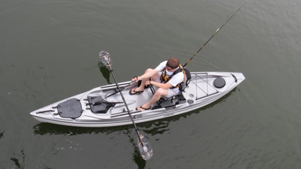 Introducing the Eddyline C135, a heavy-hitting, lightweight mainstream fishing machine. Courtesy photo.