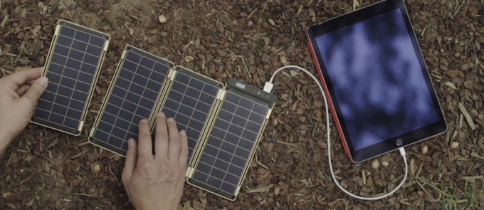 The Solar Paper charger