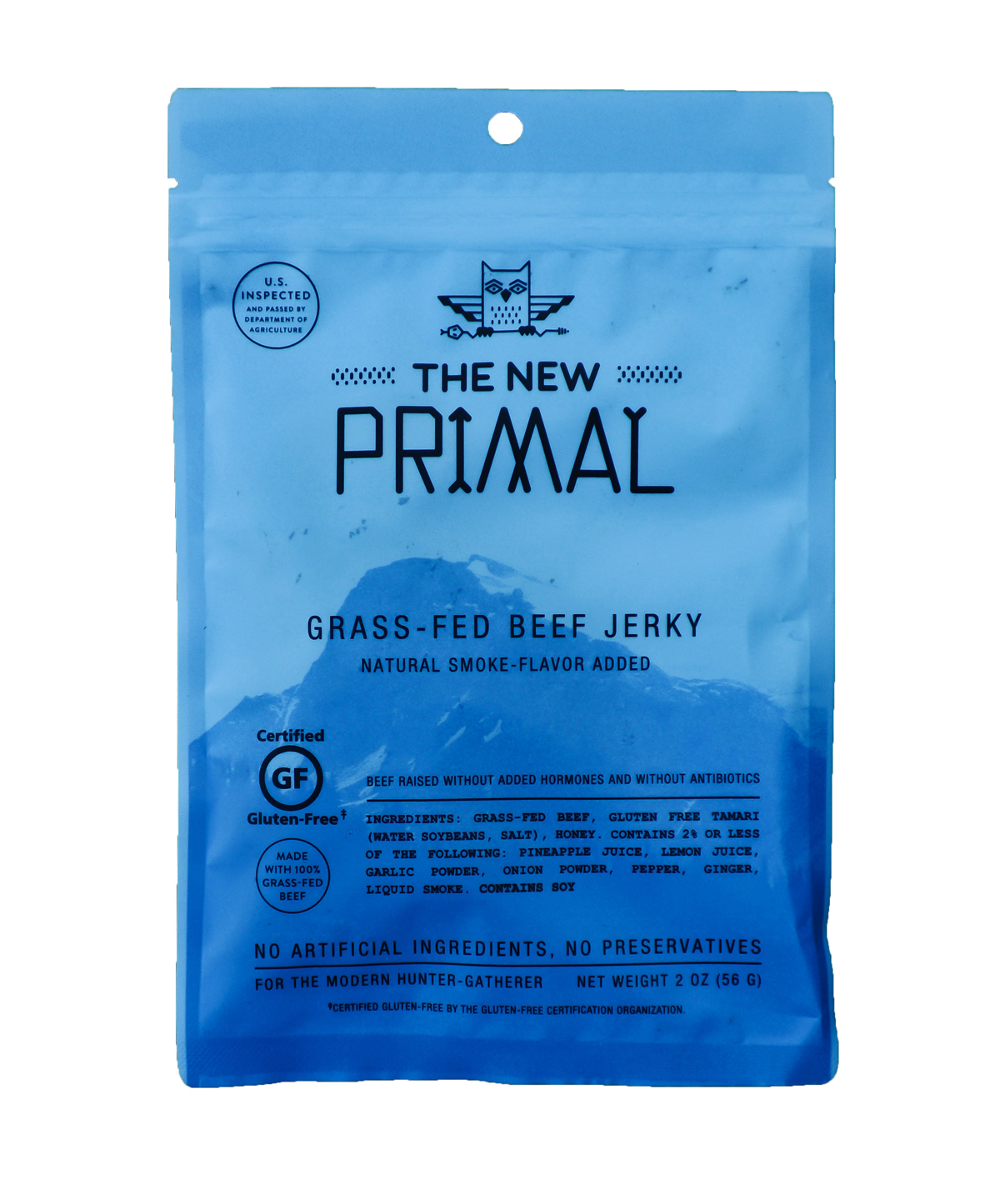 The New Primal jerky is a savory favorite with a grass-fed twist. Photo: Courtesy of The New Primal