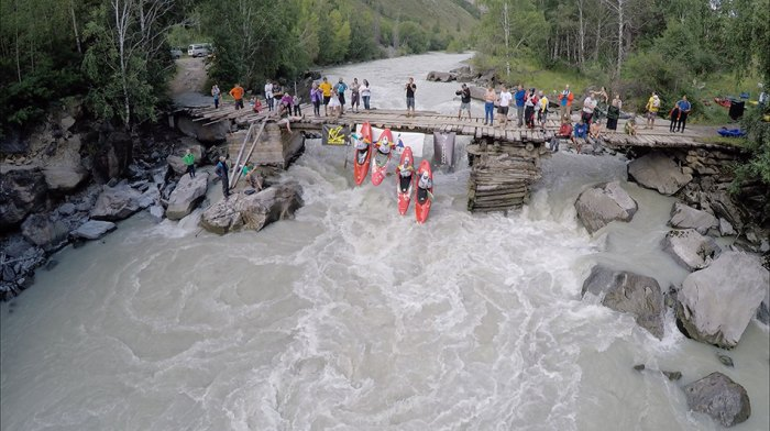 BoaterX seal launch from the bridge. Photo SBP
