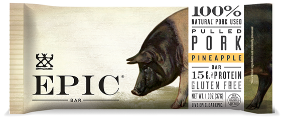 Epic Bar masters both taste and design with their individually packaged meat, nut and fruit bars. Photo: Courtesy of Epic.