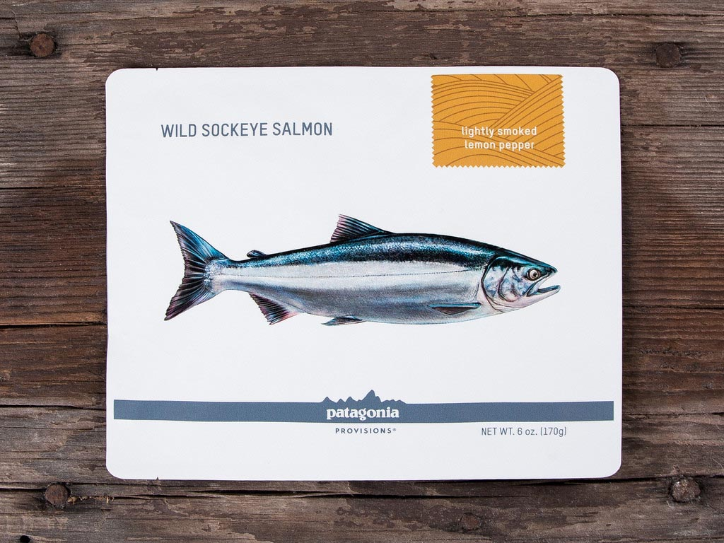 Sustainably harvested and totally shelf-stable, Patagonia Provisions salmon is a welcome change-up to your campfire fare. Photo: Courtesy of Patagonia.