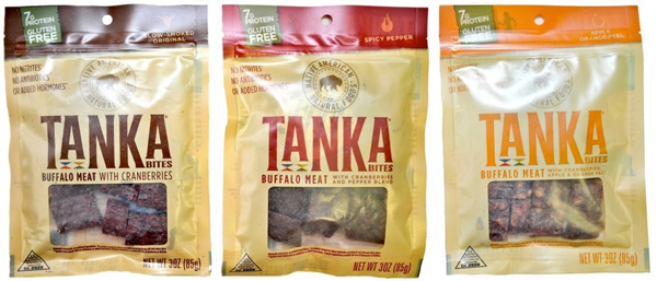 Tanka makes bite-sized pieces of jerky based on an old Native American tradition. Photo: Courtesy of Tanka