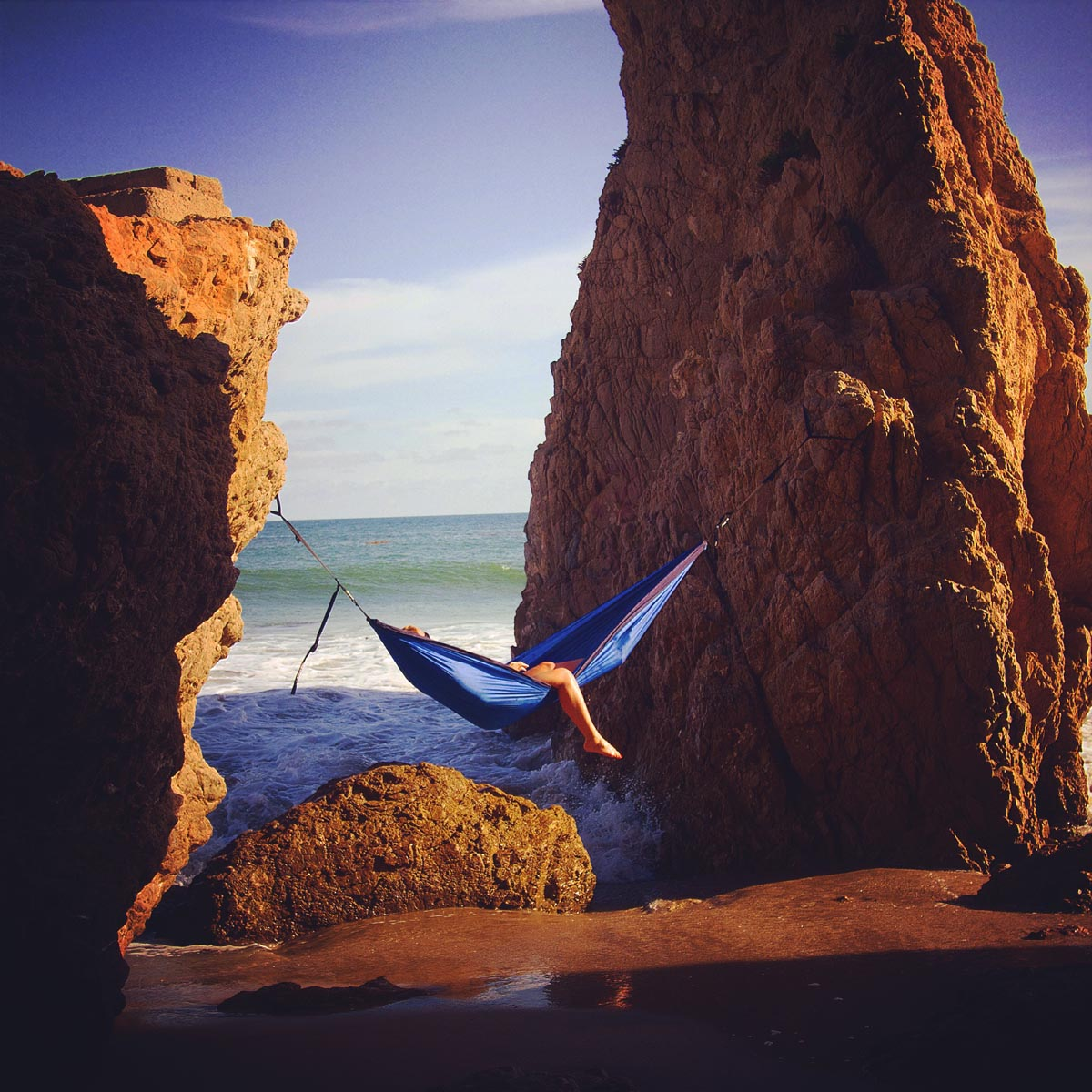 Strodel says Southern California is still one of her favorite places to hang. Photo: Courtesy of @HammockLiving