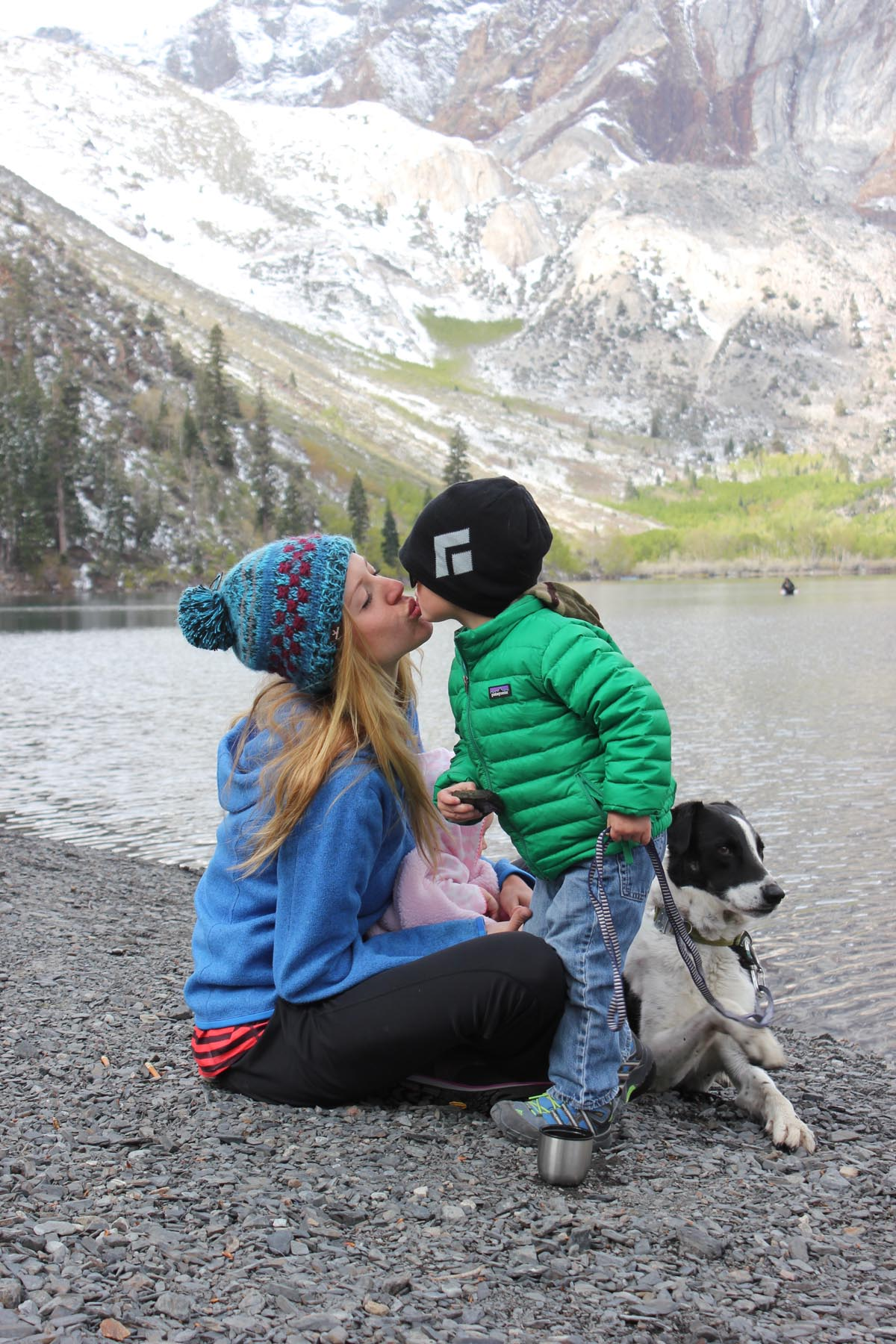 California native Shannon Robertson takes her two young children hiking and camping in the Sierra Mountains regularly. Photo courtesy of Nicklas.