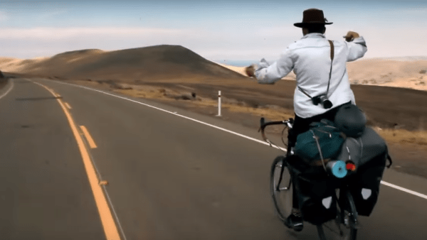 Wanderlust and life lessons from Jedidiah Jenkins bike trip