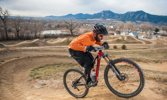 Hip opening and core strength work together to fine-tune proper balance over the bike. Photo: YannPhotoVideo.com