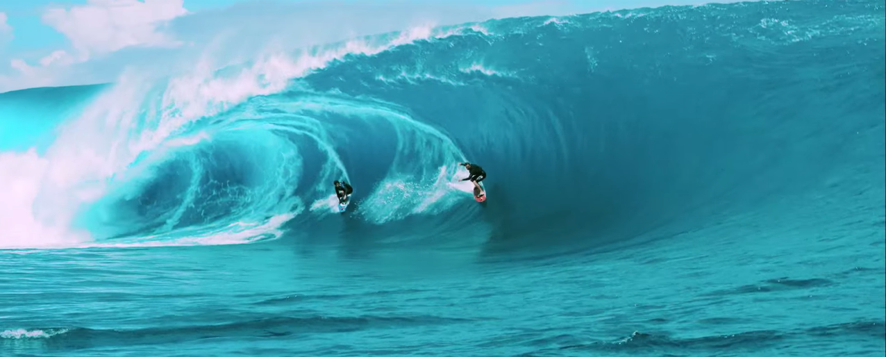 Point break movie features XXL Teahupoo