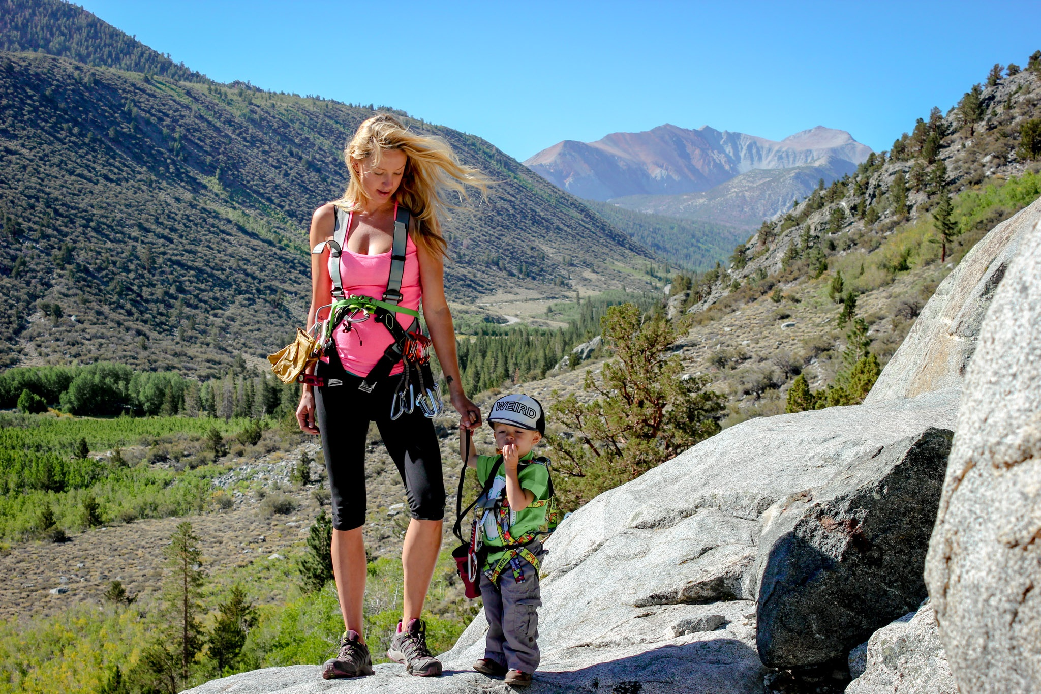 Shannon Robertson and her children regularly camp and hike in the Sierra Mountains. Photo courtesy of Shannon Robertson.