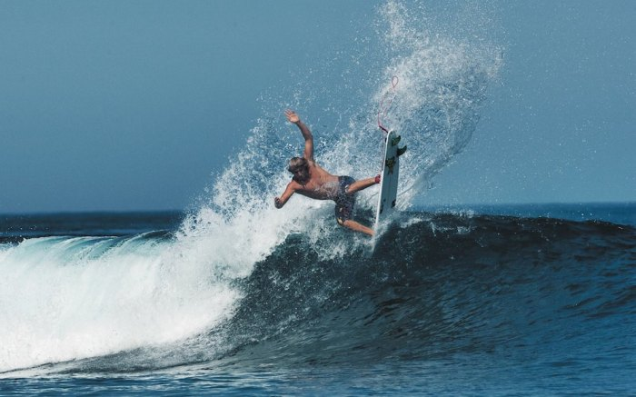 Clay is one of the most inventive surfers of his generation. Photo by Rockstar