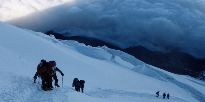 Mountaineering - Alpenglow Expeditions