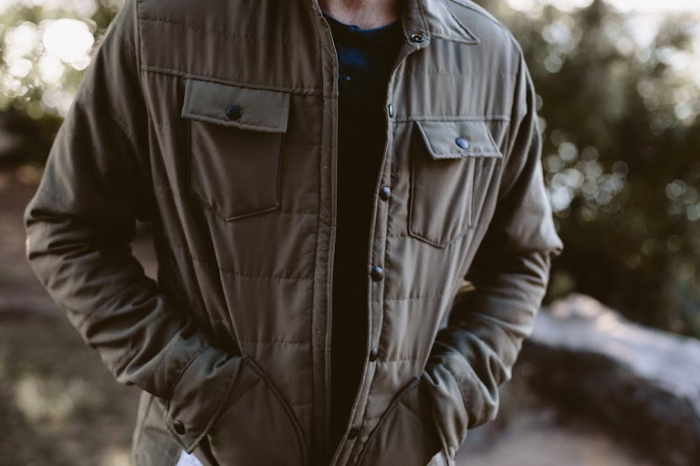 In addition to its technical jacket, the Ultimate American, United By Blue is also using bison wool in a casual snap jacket and has plans to make a bison blanket for its Winter 2016 collection. Photo courtesy of United By Blue.