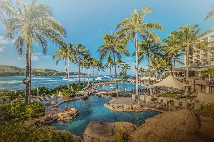 Not a bad place to relax after a hard day on the beach. Photo Turtle Bay Resort