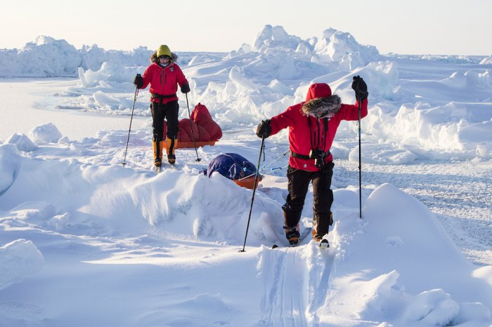 Toughest Adventures - Skiing to the North Pole