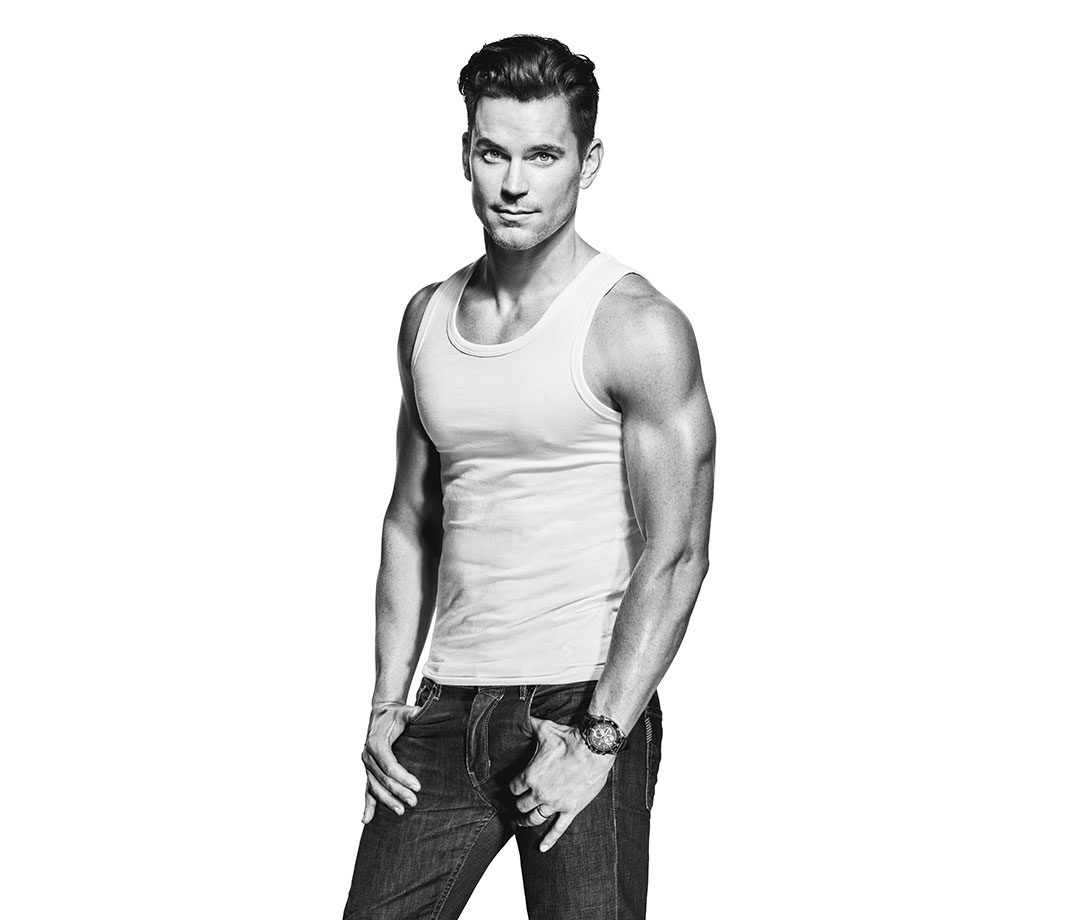 Matt Bomer 2016 Men's Fitness cover shoot