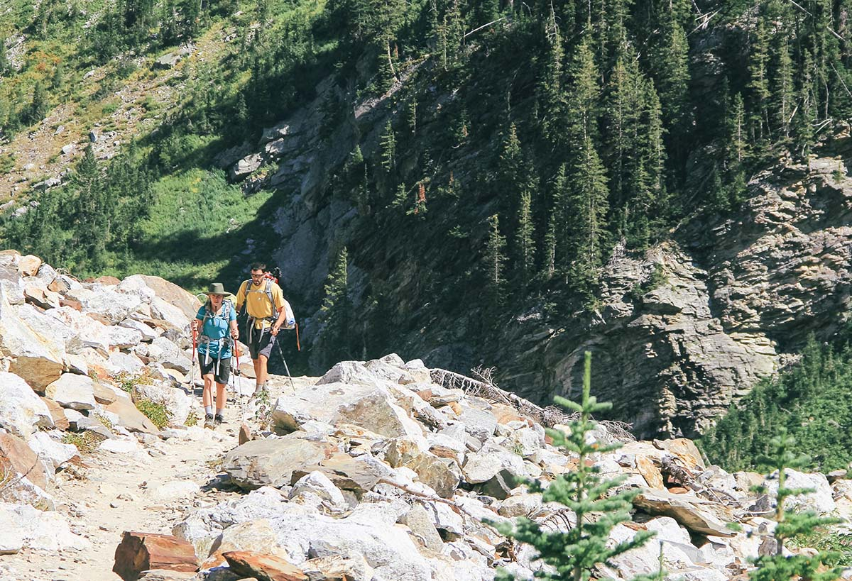Common sense says it's safer to adventure with a buddy. It also says to be patient when that buddy is also your SO. Photo: Johnie Gall