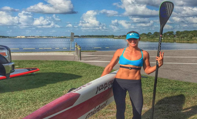 On December 5th, Cheyling Hattingh set a new world record by paddling 110 miles in 24 hours.