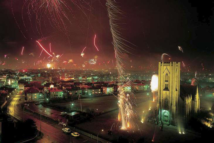 Reykjavik is known for having one of the best fireworks displays in the world. Photo: Courtesy Iceland Air