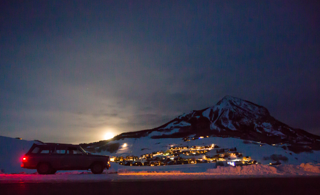 You have to make an effort to get to Crested Butte, but once you do, the town, the snow, and the hill are unreal. Photo: Coen.
