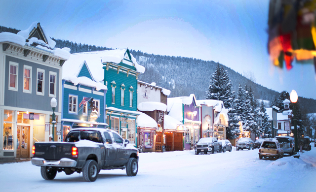 """The town of Crested Butte. Calling it a """"charming hamlet"""" isn't a stretch. Photo: Coen."""