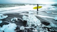 coldest places to surf