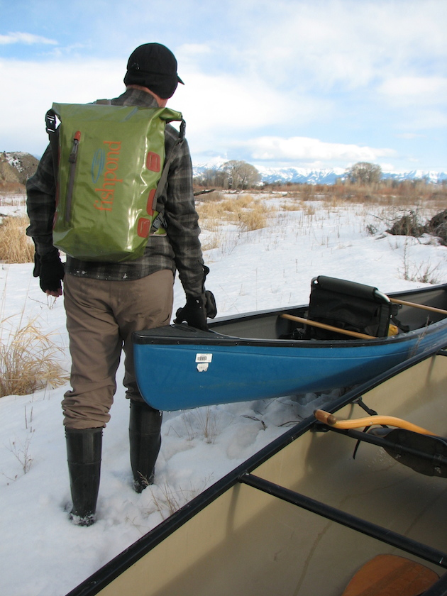 Fishpond's Westwater Rolltop Pack.
