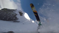 Skier triggers inbound avalanche at Mammoth Mountain