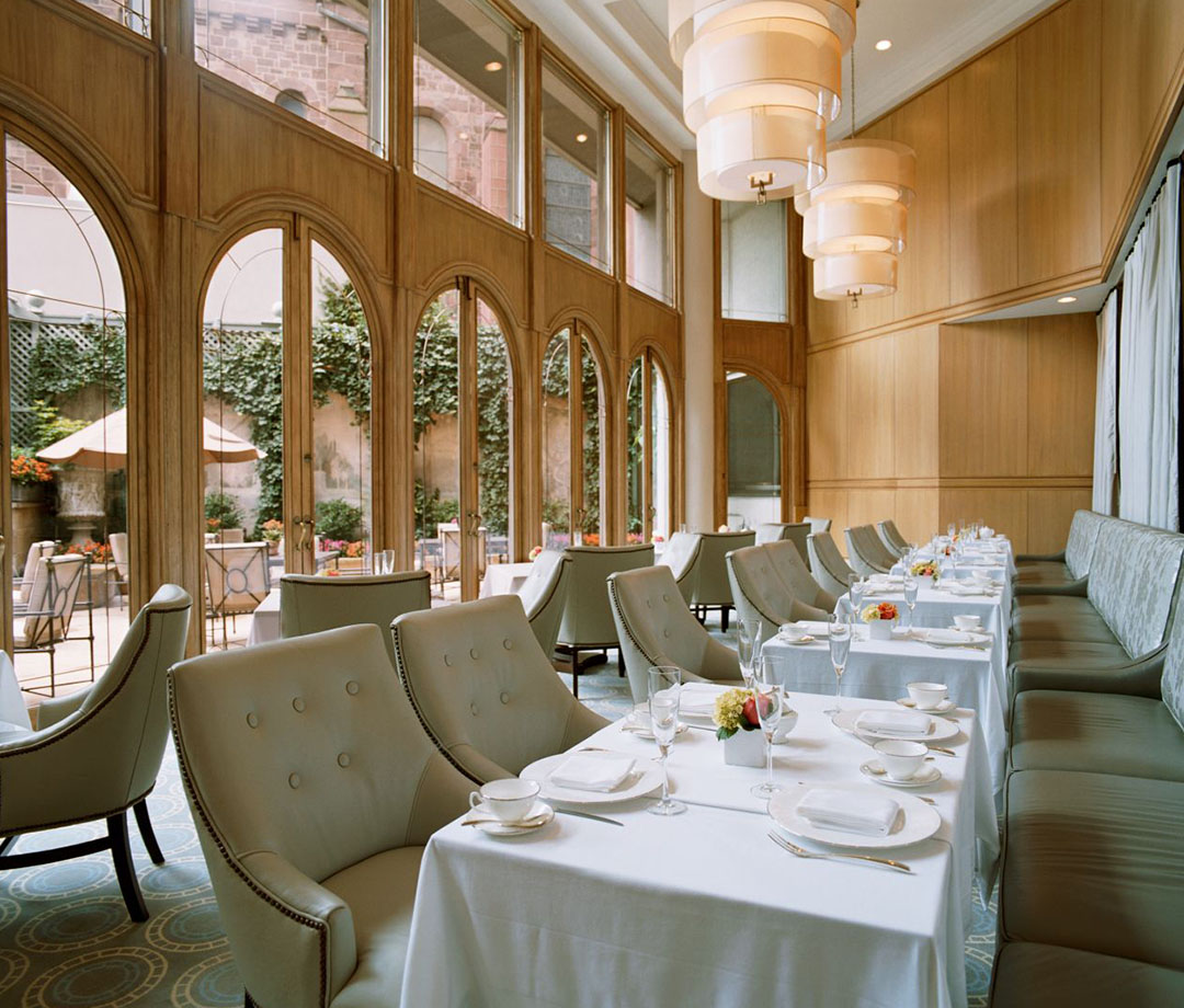 Dining at The Rittenhouse