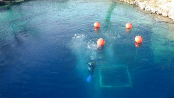 The Blue Hole in Santa Rosa, New Mexico, was the site of another diving tragedy.