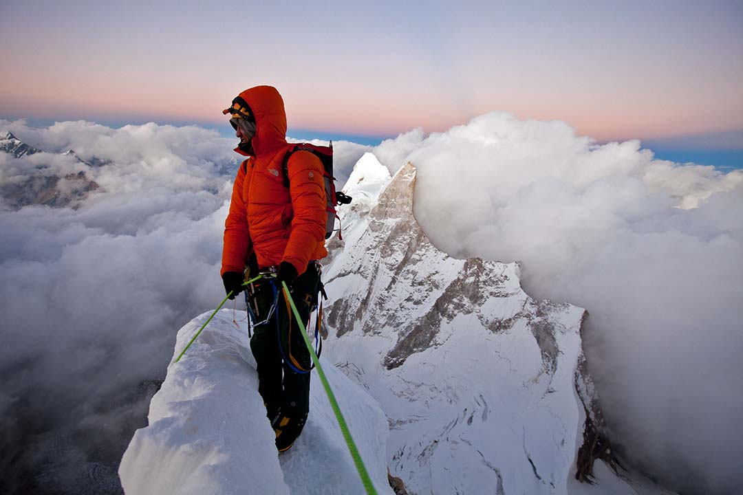 Jimmy Chin has pursued big goals in both athleticism and art for most of his career. Photo: Courtesy of Chin