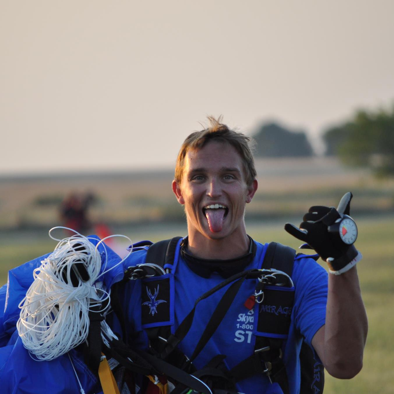 Dallas man recovering from skydiving accident