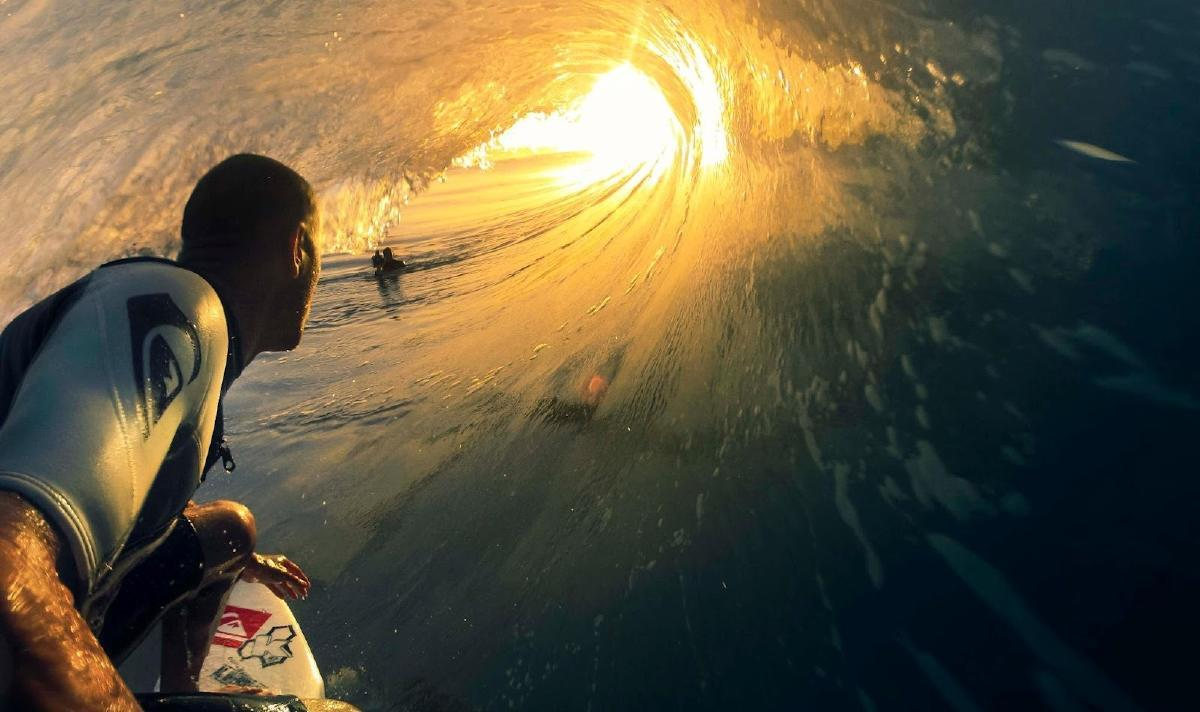 Kelly Slater is just one of GoPro's fans. Photo: Courtesy of Kelly Slater