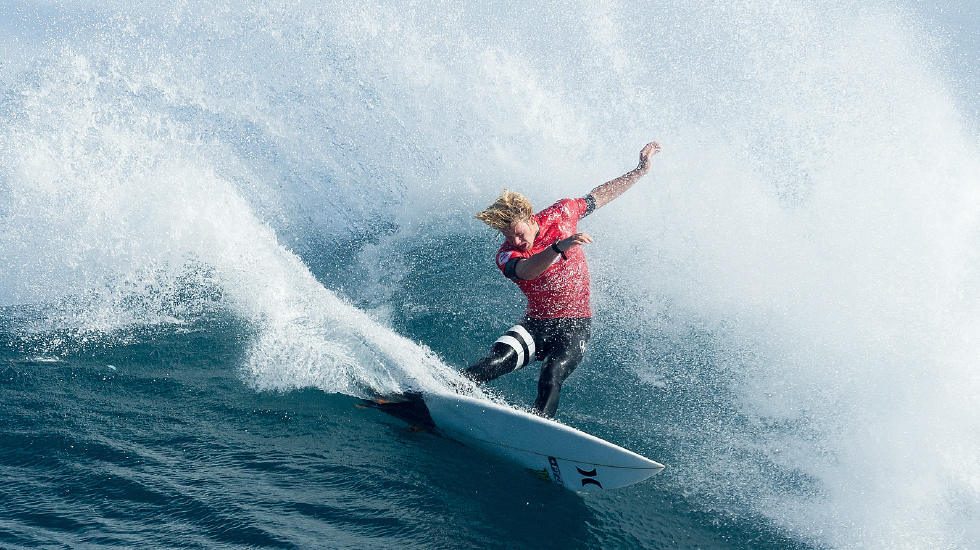 John John Florence, who rides for Hurley. Photo by WSL