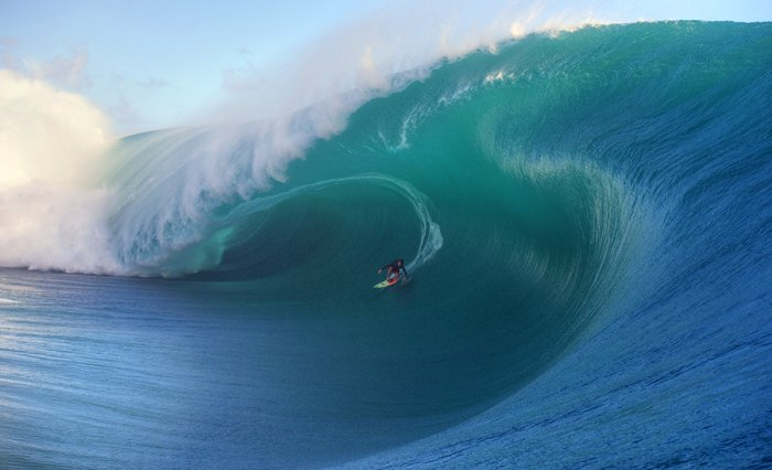 Keala Kennelly is the first woman ever nominated for Barrel of the Year. Photo: Courtesy of Tim McKenna/WSL