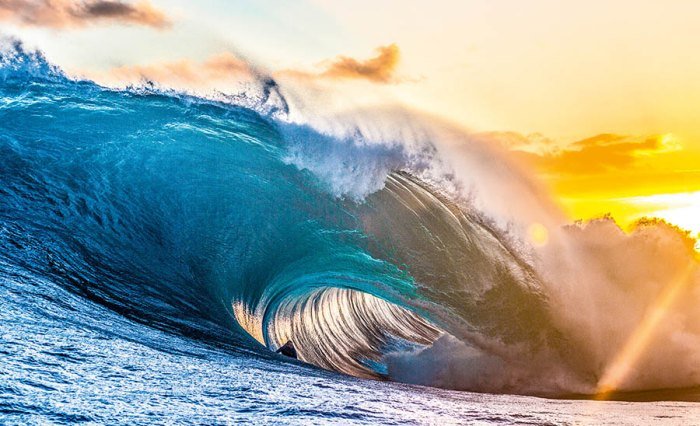 Mark Mathews surfing at The Right in Australia on big wave for 2016 Big Wave Awards