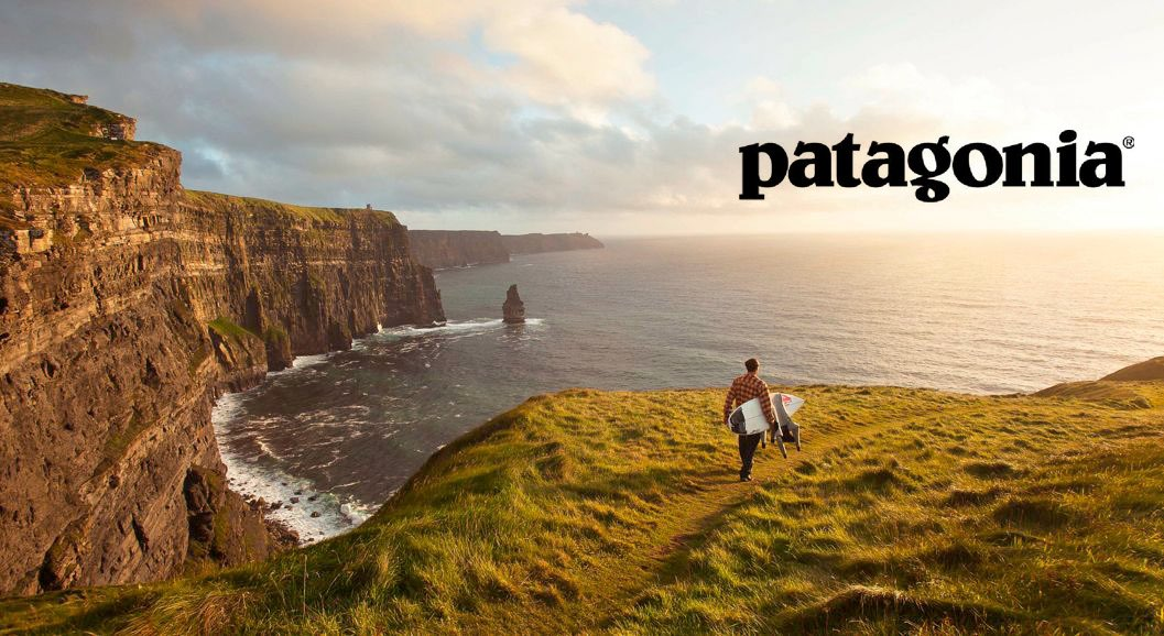 A recent advert for Patagonia. Photo by Patagonia