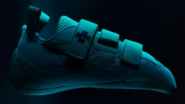 Climbing shoes feature