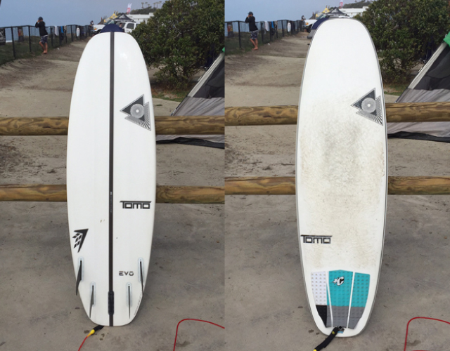 Progressive surfboard design may start to grow on me. Photo: Jon Perino