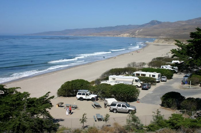 There's beachfront, and there's Jalama.