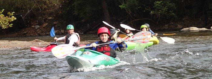 The Nantahala Racing Club introduces Western North Carolina kids to kayaking