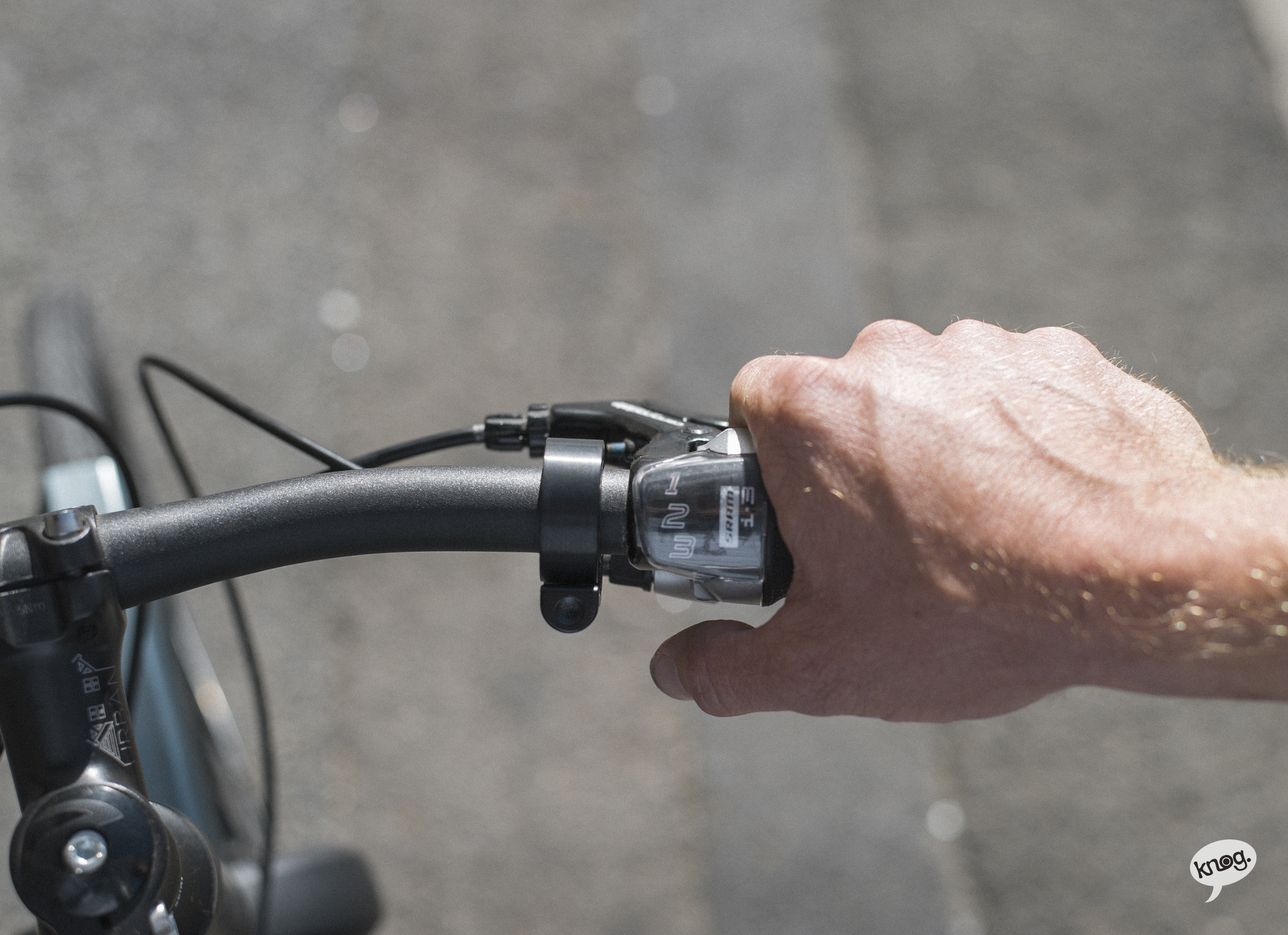 Can you spot the bike bell? Photo: Courtesy of Knog
