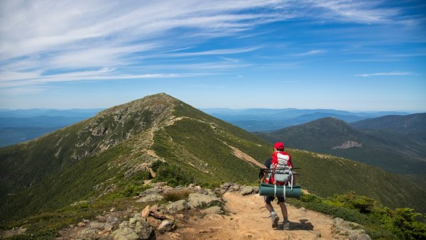 new Hampshire hike Franconia ridge traverse