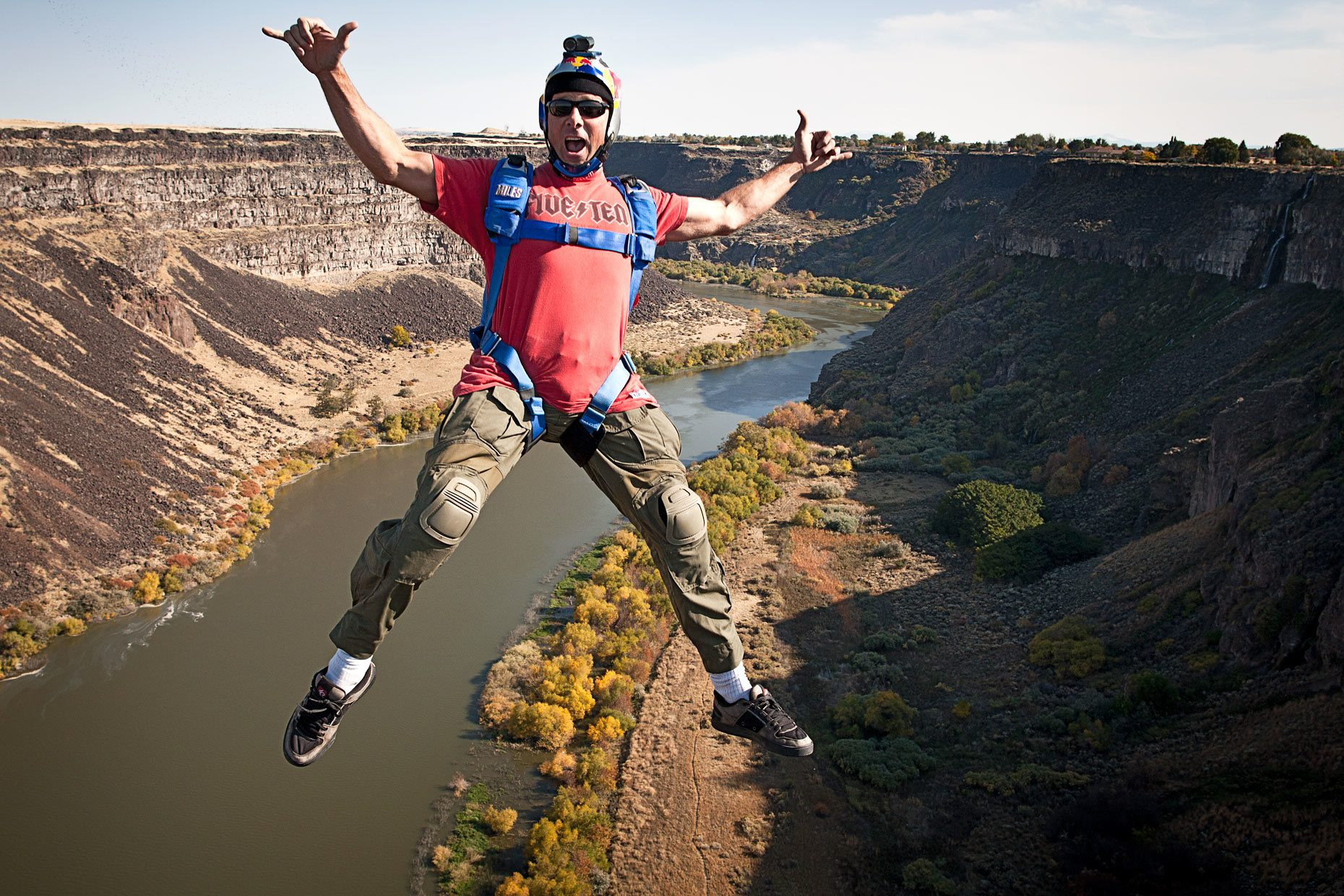 Miles Daisher Tom Baker BASE Jumping